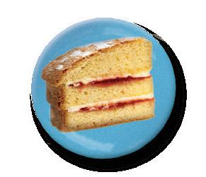 Cake badge
